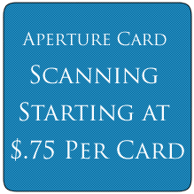 Aperture Card Scanning Price