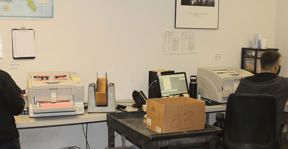 Document Scanning - Ops Room