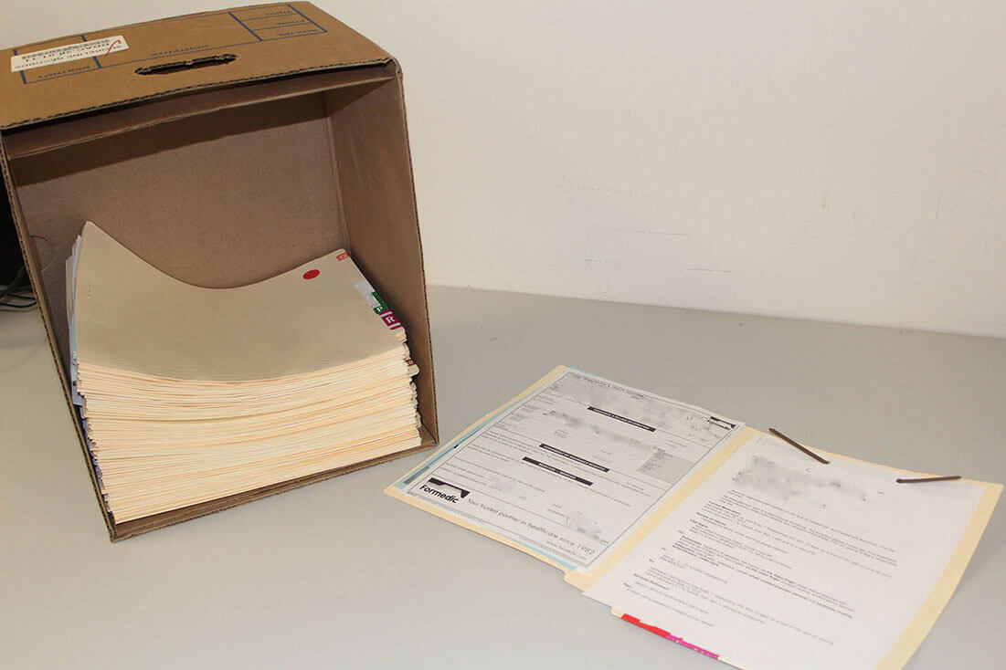 Medical Records in a box